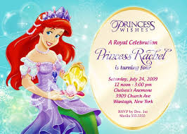 princess birthday invitation templates invitation ideas