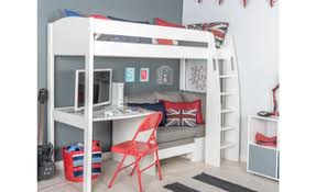 High Sleeper Bed With Desk And Sofa Children S High Sleeper Beds Room To Grow