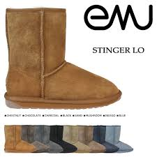 emu ugg boots sale zealand allsports rakuten global market emu emu stinger lo sheepskin