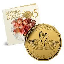 wedding gift amount canada canada wedding gift coin set swans