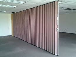 Retractable Room Divider Modernfold Accordion Wall Partition Sliding Retractable Room