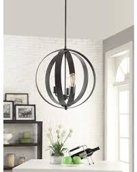 Orb Chandelier Black Friday Savings On Cassidy 3 Light Orb Chandelier Black Iron