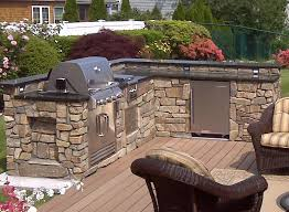 L Shaped Outdoor Kitchen by Custom Built Outdoor Kitchens 2008 L Shape