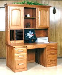 Used Computer Desk With Hutch Amish Flat Top Computer Desk With Hutch Computer Desks With Hutch