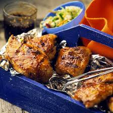 Backyard Cookout Ideas Ginger Barbecued Chicken