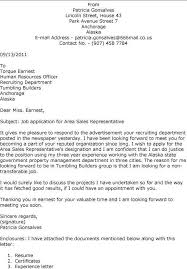 lovely cover letter for sales representative position 74 for your