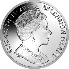 ascension island gold and silver coins pay tribute to diana