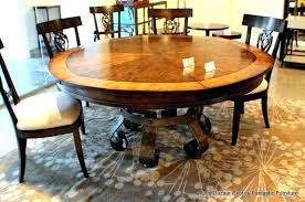 extendable dining room tables round dining table extendable expandable round dining table