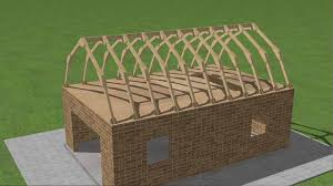 Barn Roof Angles How To Build A Gambrel Roof 7 Steps With Pictures Wikihow