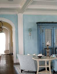 Color Wash Walls - soft color wash on walls to mimic the ocean breeze outside the