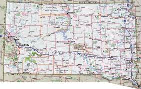 map south dakota large detailed roads and highways map of south dakota with all