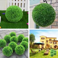 25cm 28 35cm conifer topiary ball tree boxwood wedding event home