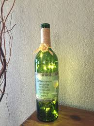 wine bottle light mother u0027s day gift home decor recycled