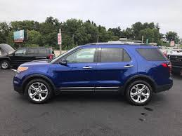 Ford Explorer Blue - 2013 ford explorer awd limited 4dr suv in dillsburg pa wessels