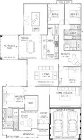 Double Master Bedroom Floor Plans by Shiraz Home Design Large Four Bedroom Family Home Plunkett