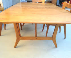 heywood wakefield butterfly dining table heywood wakefield dining table trendy value and chairs modern room