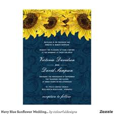 sunflower wedding invitations navy blue sunflower wedding invitation 2 40 going to the