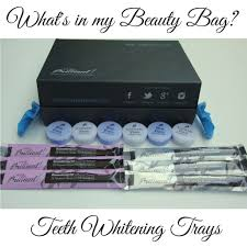 what u0027s in my beauty bag teeth whitening lady in violetlady in