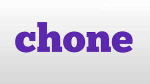 chone meaning and pronunciation youtube