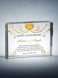 50th anniversary gifts 50th golden wedding anniversary gifts diy awards