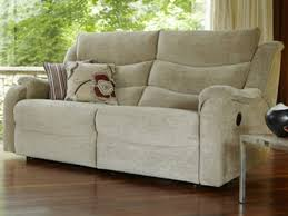 Denver Fabric  Seater Sofa Double Manual Recliners Grade A - Denver sofa