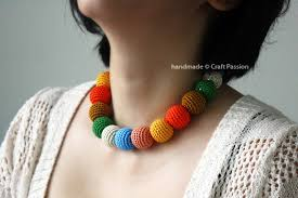 crochet necklace bead images Beads necklace free crochet pattern craft passion jpg