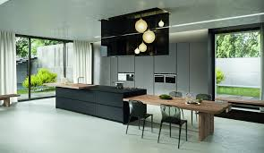 cuisine noir mat et bois agréable cuisine noir mat et bois 9 cuisine noir mat et bois