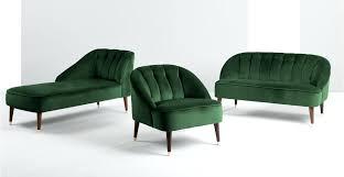 Velvet Accent Chair Velvet Accent Chair An Accent Chair In Forest Green Velvet Winston