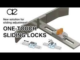 drawer slide locking mechanism one touch sliding locks sliding latch hardware locking mechanism