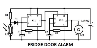 fridge guard circuit diagram circuit and schematics diagram
