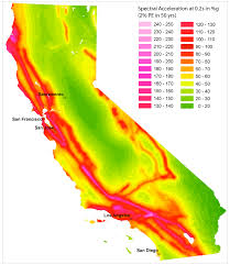 earthquake hazard map seismic hazard mapping of california considering site effects