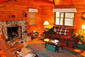 Log Cabin Living Room Designs Creekside Log Cabin In The Poconos Living Pocono Cozy Room Loversiq