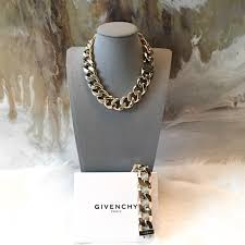 curb chain necklace fashion images Givenchy jewelry gold curb chain necklace bracelet poshmark jpg