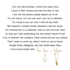 mike posner u2013 notebook poem genius