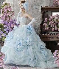 wedding dress blue blue wedding dresses impressive inspirations elasdress