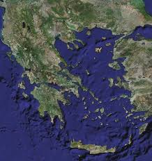 Greece Map Blank by Greece Satellite Map U2022 Mapsof Net