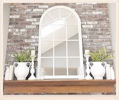 country style mirrors home decor mantel décor wall mirror window mirror mantel styling home