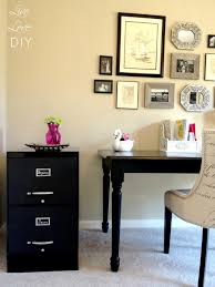 Diy Desk With File Cabinets by Livelovediy How To Spray Paint A File Cabinet And The Occasional
