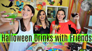 halloween drinks with friends youtube