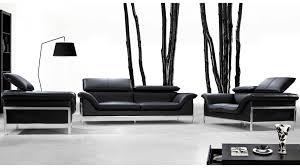 canapé cuir contemporain design salons cuir mobilier cuir