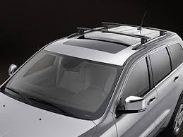 jeep grand cross rails jeep roof rack w cross rails removable mopar 822212072ad