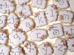 monogram plaques learn how to make mini plaque monogram cookies in this tutorial by