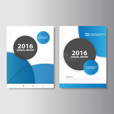 circle layout vector blue circle vector annual report leaflet brochure flyer template