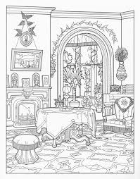 printable house coloring pages coloringstar royal palace haunted