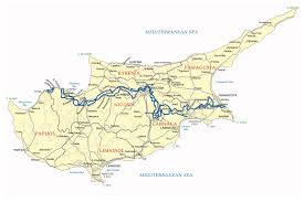 Map Of Napa Maps Of Cyprus Detailed Map Of Cyprus In English Tourist Map
