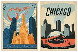 14 Best Our Collections Images by New Classic Chicago Posters U2013 Anderson Design Group