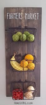 wall fruit basket ingenious inspiration wall hanging fruit basket or iron wire