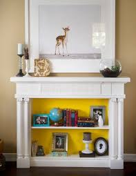 Decorate Inside Fireplace by 24 Cozy Faux Fireplace And Mantel Decor Ideas Shelterness