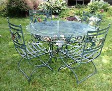 Wrought Iron Patio Tables Used Patio Furniture Ebay