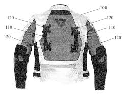 motorcycle jacket vest patent us20130047314 motorcycle jacket with passenger safety